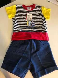 🚚 男童上衣+褲子