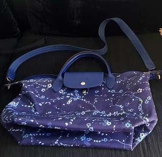 Longchamp Sakura Medium Blue
