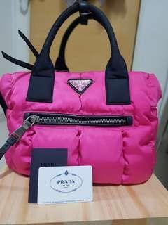Pink Nylon Prada Bag