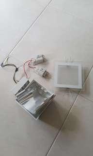 🚚 Giving away Down light (Glass type). Osram Lights