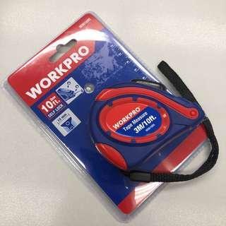 Workpro 三米 雙面刻度 自動扣鎖 拉尺