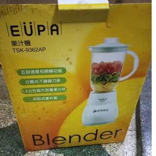 🚚 全新~EUPA果汁機~便宜賣