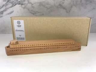 實木日暦 Solid Wood Linear calendar