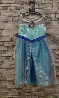 Preloved dress Frozen
