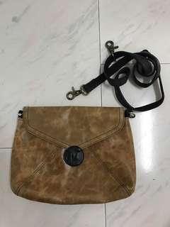 Real leather bag