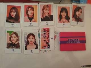 Twice one more time photocard