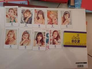 Twice bdz member sell photocard