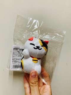 正版 ねこあつめ Neko Atsume 吊飾 鎖鑰扣 Keychain 三色貓 可愛 絕版 全新