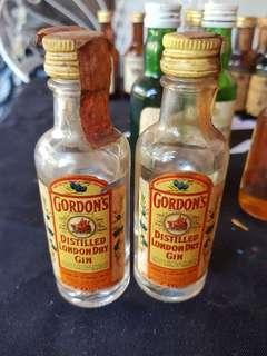 Antique Mini Alcohol Bottles 40 pieces