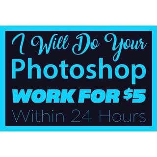 I Will Do PhotoShop / PhotoEditing / Posters !:)