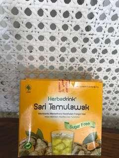 Sari Temulawak maintain liver functions