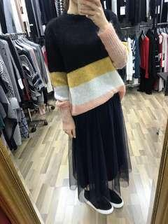Brand new soft mohair knitted top 全新女裝不吉肉毛衣