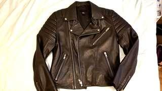 H&M Leather Jacket 全真皮