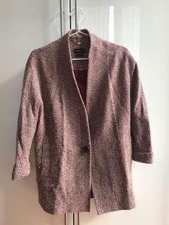 Massimo Dutti Mid-length Sleeve Coat