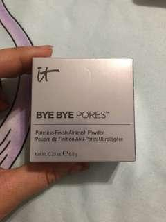 It cosmetics byebye pore powder