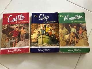 Enid Blyton Adventure Series (set of 3)