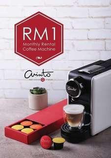 RM1 Arissto coffee maker
