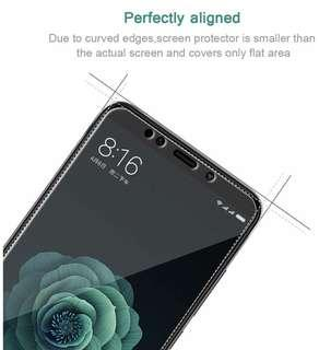 Xiaomi Mi A2 小米 A2 透明鋼化防爆玻璃 保護貼 9H Hardness HD Clear Tempered Glass Screen Protector (包除塵淸㓗套裝)(Clearing Set Included)