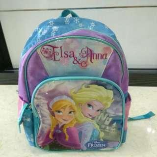 (Pre-loved) Disney Anna and Elsa backpack