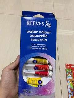 Reeves 12 colours - water colour paint