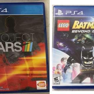 PS4 Batman3 Project Car