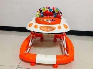 Babybabe 多功能汽車嬰幼兒學步車 搖椅 螃蟹車 嬰兒車 搖馬