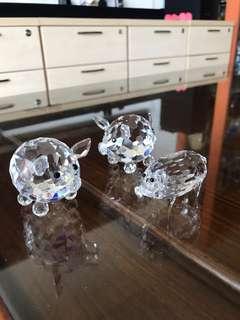 Pig crystal