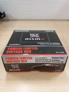 1/64 Tomytec Nissan GT-R (R35) Nismo N Attack Package (LV-N101)