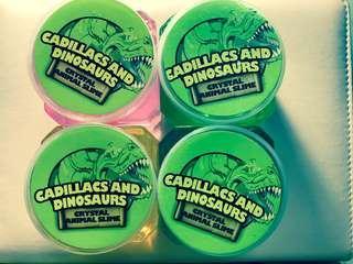 Crystal Dinosaurs Slime