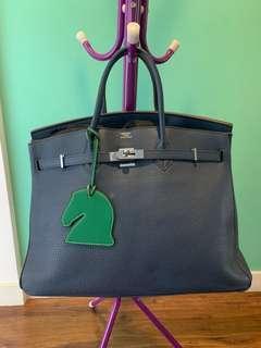 Replica Hermes 40cm Birkin Handbag Blue