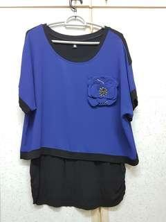 Top Blue Shirt