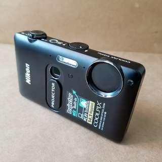Nikon Coolpix S1200jp 投影機 相機 projector camera