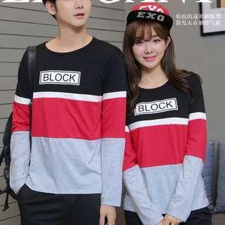 sweater couple | sweater pasangan | sweater kembar | sweater polos | sweatshirt couple | defender lp couple
