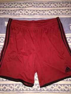 Nike 紅色運動褲 只著一兩次 9成新