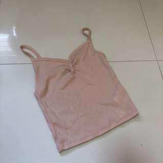 baby pink supre cami