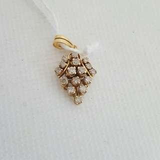 Necklace Pendant 18k Gold