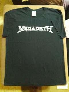 Tshirt band megadeth