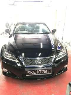 Lexus IS250C 2.5 Auto