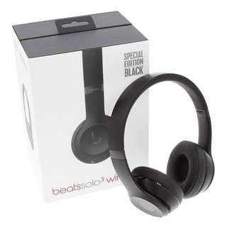 [Used]Beats Solo 3 Wireless (special edition Black)
