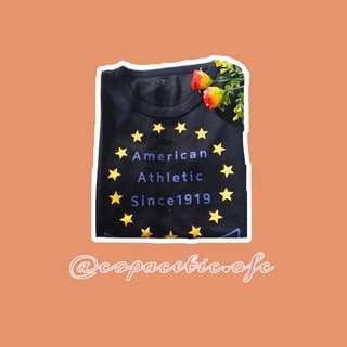 American athletic t-shirt