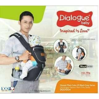 Hipseat Baby Dialogue DGG1004 Gendongan Anak Bayi 3 Posisi Murah