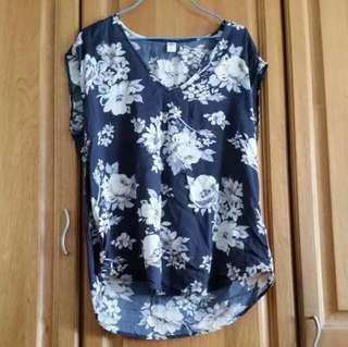 [Preloved] Old Navy Flower Top