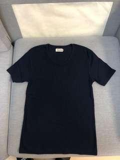 99% new 日本 bull 緊身爆肌藍色t shirt Nike adidas