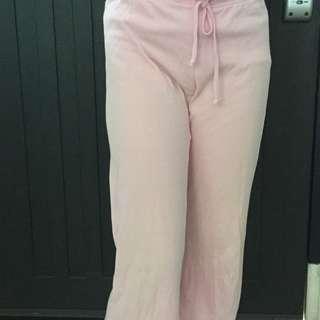 Light Pink 3 Quarter pants