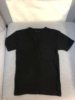 99% new 日本 bull 緊身爆肌黑色 t shirt Nike adidas