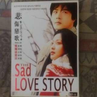 The sad Love Story 韓劇 DVD movie