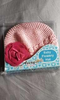 Baby flowery Hat