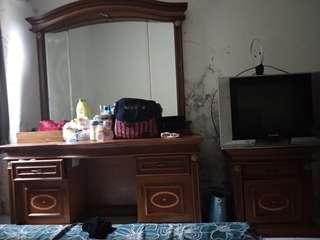 meja rias dan meja tv kamar
