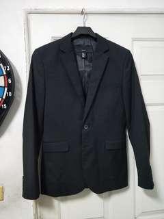 免運,H&M西裝外套,約S號,EU 42,165 84A