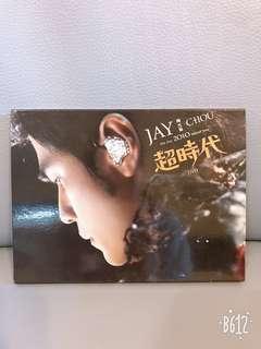 周杰倫 超時代演唱會DVD